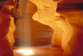 God reaches us in the caverns of our minds with marvelous light.